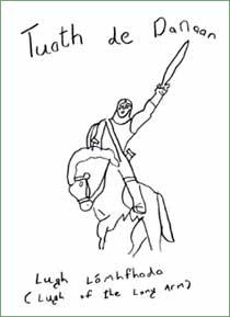 The Legend of Tuatha De Danann
